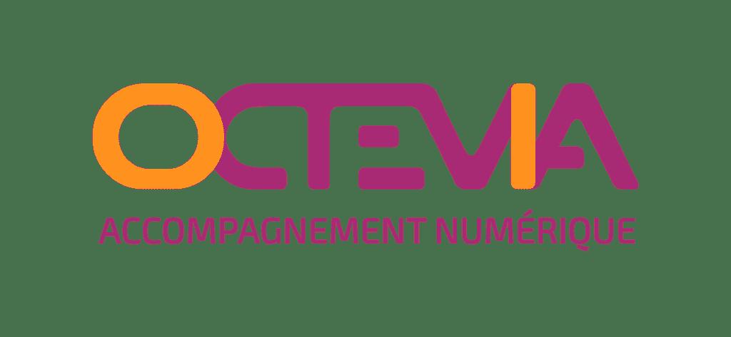 OCTEVIA - Accompagnement Numérique - Logo